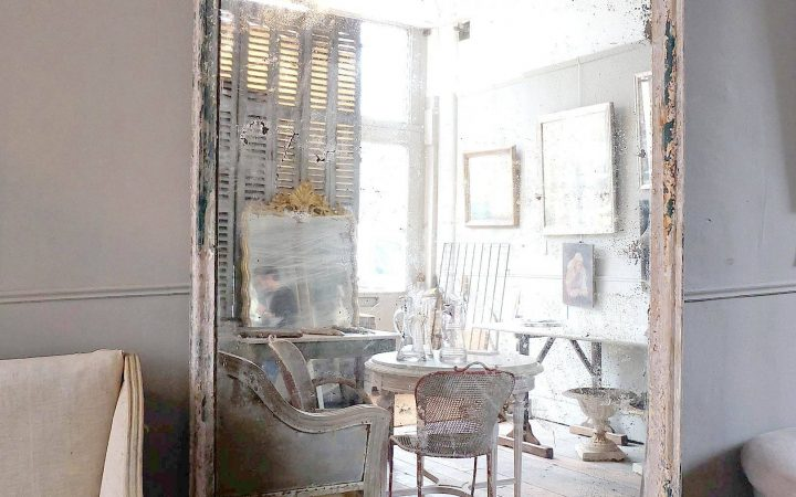 Large Antiqued Mirrors