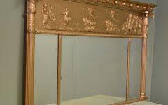 Antique Overmantle Mirrors