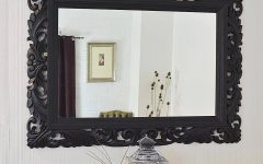 Black Large Mirrors