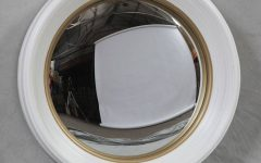 White Convex Mirrors