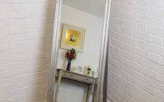 Silver Free Standing Mirrors