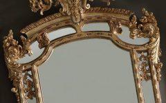 Gold Rococo Mirrors