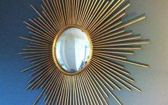 Large Sun Shaped Mirrors