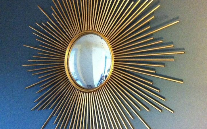 Large Sun Shaped Mirrors