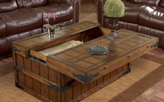 Large Coffee Table With Storage