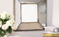 Traditional Square Glass Wall Mirrors
