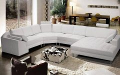 Leather Modern Sectional Sofas