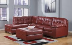 Ashley Furniture Leather Sectional Sofas