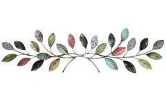 Leaves Metal Sculpture Wall Decor by Winston Porter