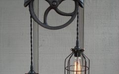 Pulley Pendant Light Fixtures