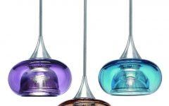 Turquoise Glass Pendant Lights