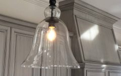 Glass Jug Pendant Lights