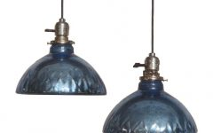 Mercury Glass Globes Pendant Lights