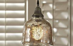 Mercury Glass Lights Fixtures