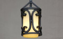 Wrought Iron Mini Pendant Lights