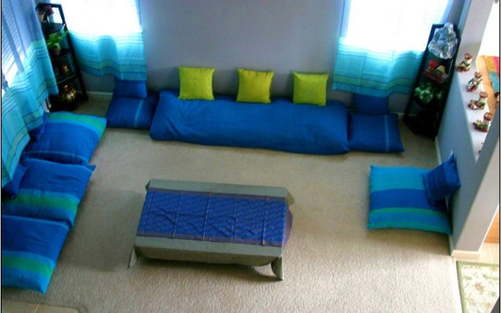 Floor Seating for Living Room