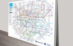 Tube Map Wall Art
