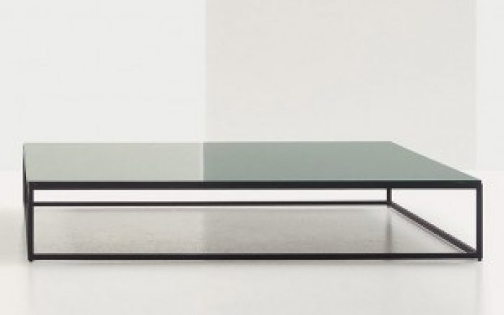 Low Glass Coffee Table Contemporary