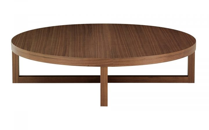 Large Round Low Coffee Tables