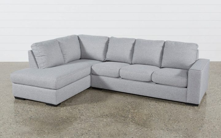 Lucy Grey 2 Piece Sectionals with Raf Chaise