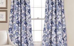 Cynthia Jacobean Room-darkening Curtain Panel Pairs