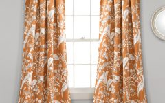 Dolores Room Darkening Floral Curtain Panel Pairs