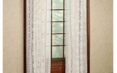Luxurious Old World Style Lace Window Curtain Panels