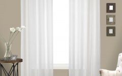 Luxury Collection Venetian Sheer Curtain Panel Pairs