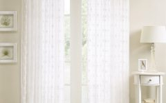 Kida Embroidered Sheer Curtain Panels