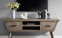 Madison Park Rachel Grey Media Credenzas