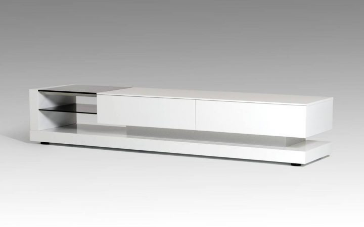 Contemporary White Tv Stands