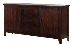 """Tarakan 43.3"""" Wide 3 Drawer Wood Sideboards"""