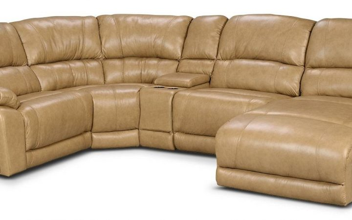 Cindy Crawford Leather Sectional Sofas