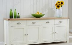 4-door 4-drawer Metal Inserts Sideboards