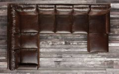 Brompton Leather Sectional Sofas