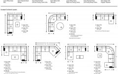 Measurements Sectional Sofas