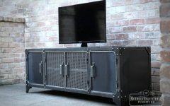 Industrial Metal Tv Stands