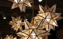 Outdoor Hanging Star Lights