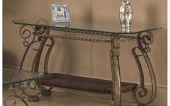 Metal Glass Sofa Tables