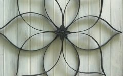 Oil Rubbed Metal Wall Decor