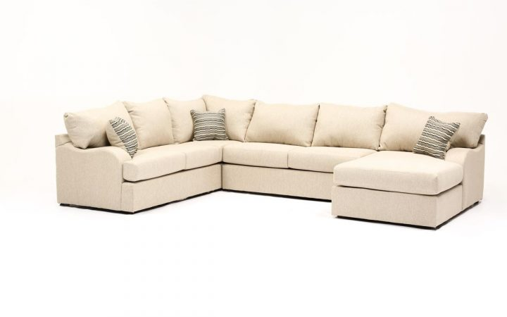Meyer 3 Piece Sectionals with Laf Chaise