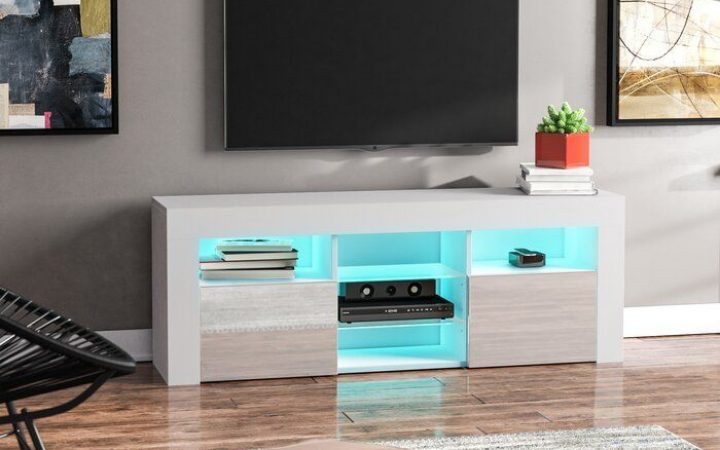 """Ezlynn Floating Tv Stands for Tvs Up to 75"""""""