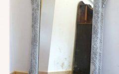 Shabby Chic White Distressed Mirrors