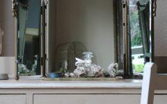 Antique Triple Mirrors