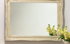 Cream Ornate Mirrors