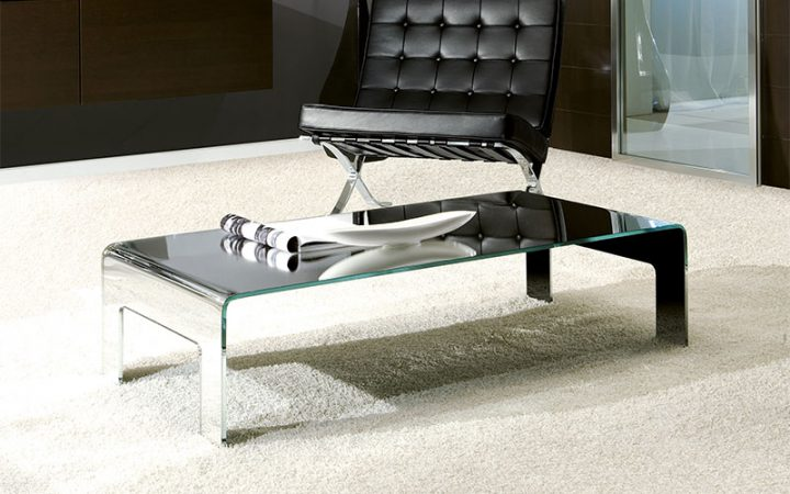 Mirror Glass Coffee Table for Sale