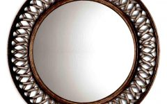 Large Round Metal Mirrors