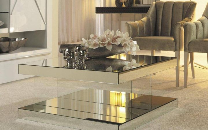 Small Mirrored Coffee Tables