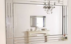 Large Bevelled Edge Mirrors