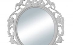 White Baroque Wall Mirrors